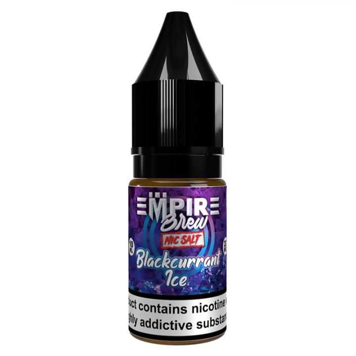 Blackcurrant Ice Nicotine Salt by Empire Brew