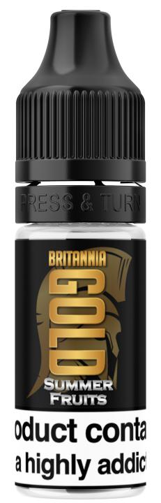 Summer Fruits Regular 10ml by Britannia Gold