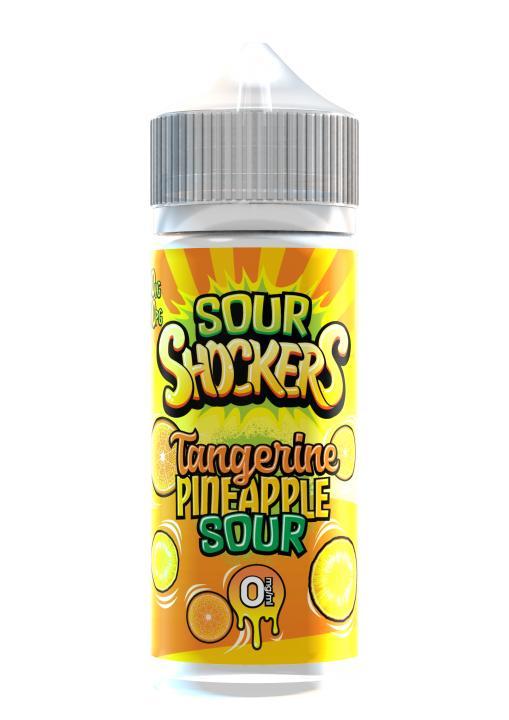 Tangerine & Pinapple Sour Shortfill by Sour Shockers