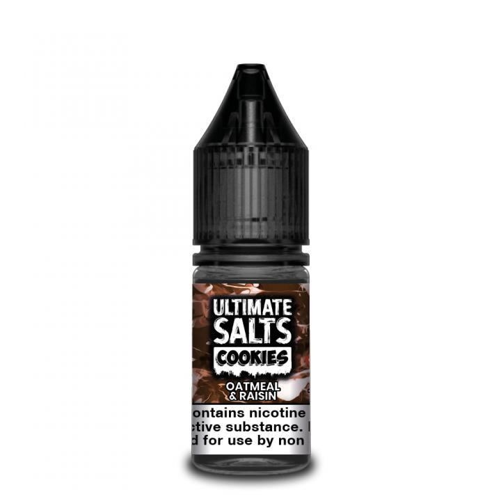 Cookies Oatmeal & Raisin Nicotine Salt by Ultimate Puff