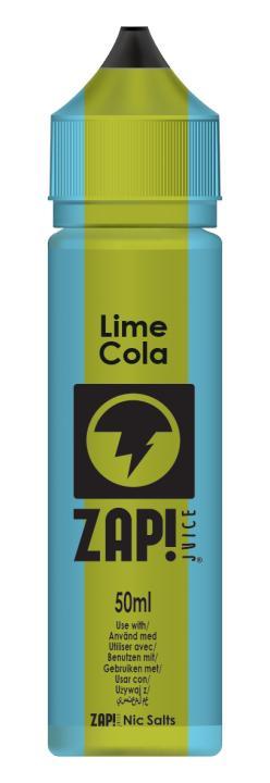 Lime Cola Shortfill by Zap!