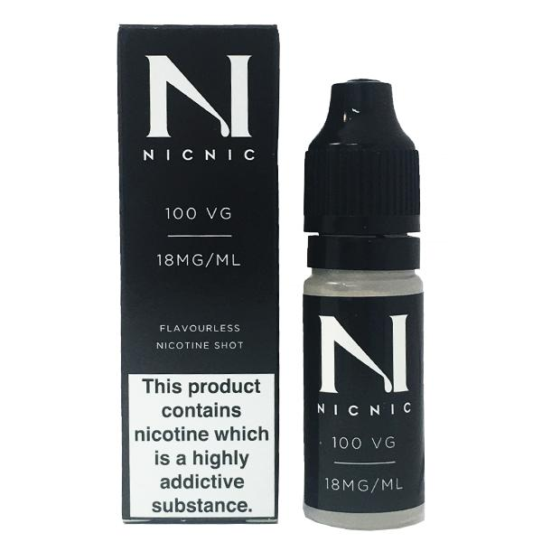 short-fill nicotine shot