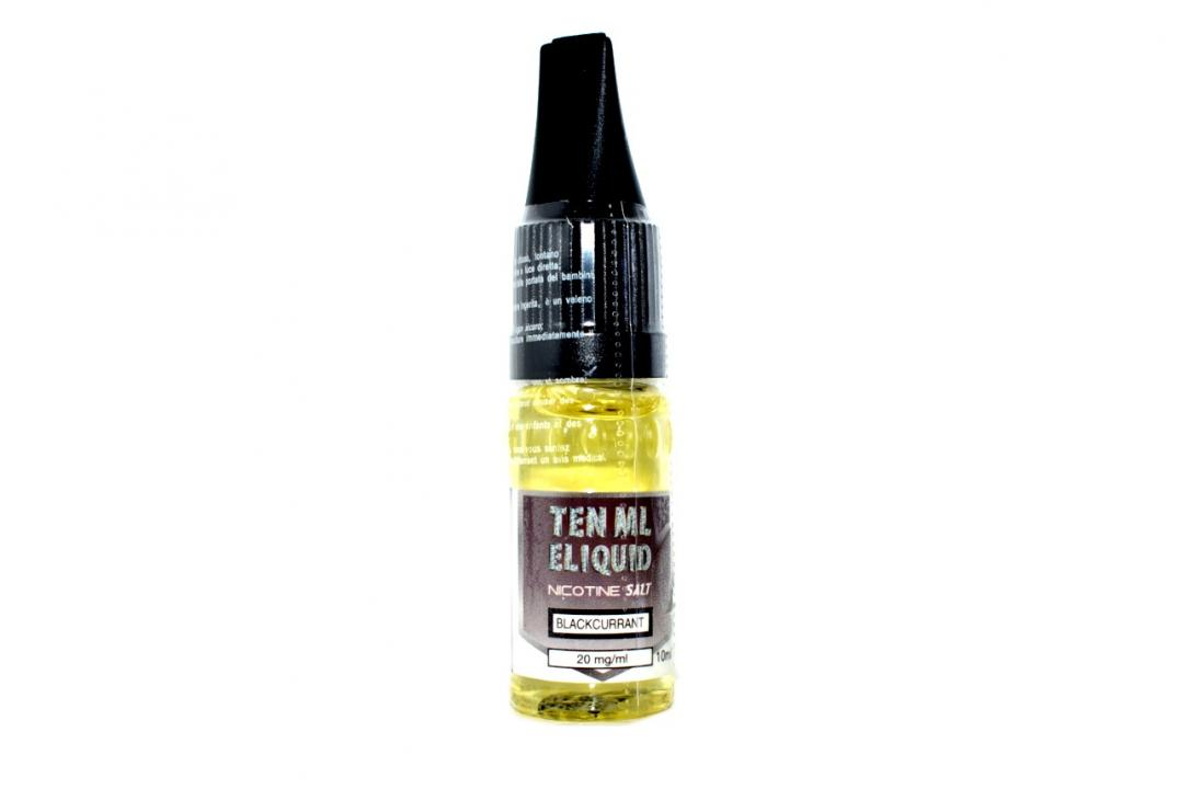 Blackcurrant Nicotine Salt by 10ml E-Liquid