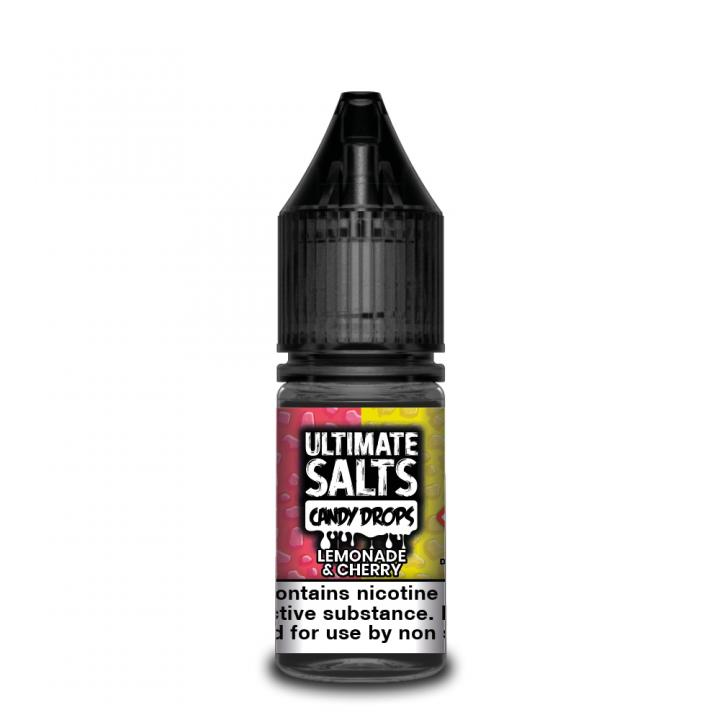 Candy Drops Lemonade & Cherry Nicotine Salt by Ultimate Puff