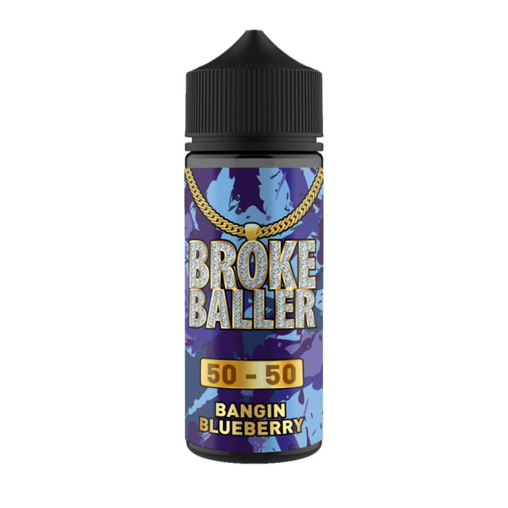 Banging Blueberry Shortfill by Broke Baller