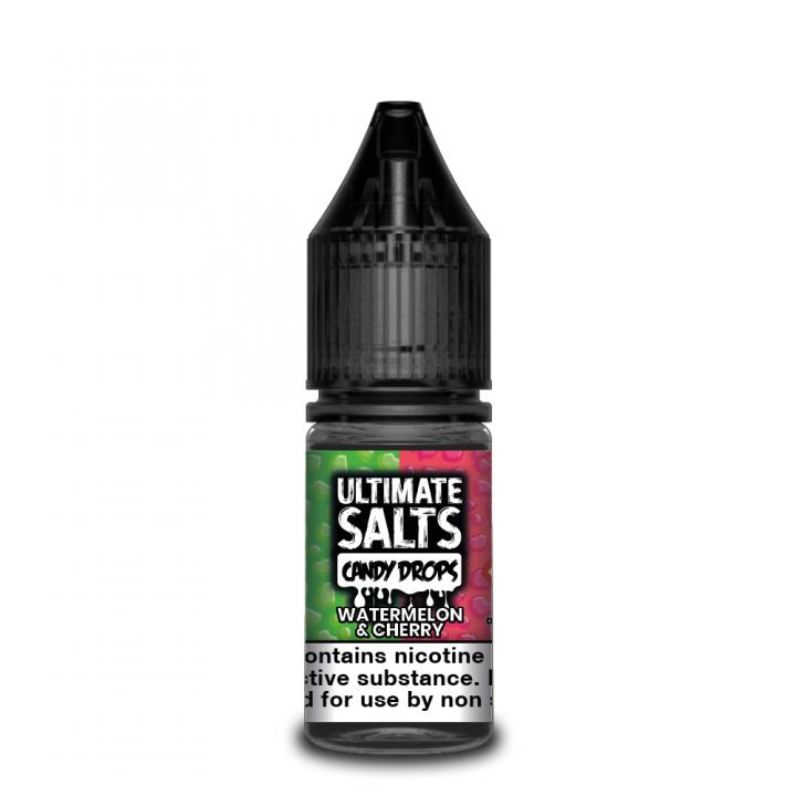 Candy Drops Watermelon & Cherry Nicotine Salt by Ultimate Puff