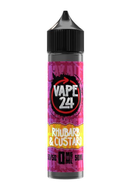 Rhubarb & Custard Shortfill by Vape 24