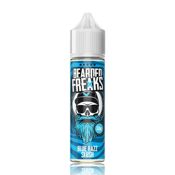 Blue Razz Slush Shortfill by Bearded Freaks