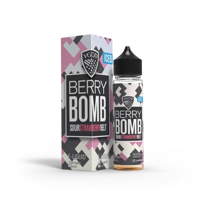 Iced Berry Bomb Shortfill by VGOD