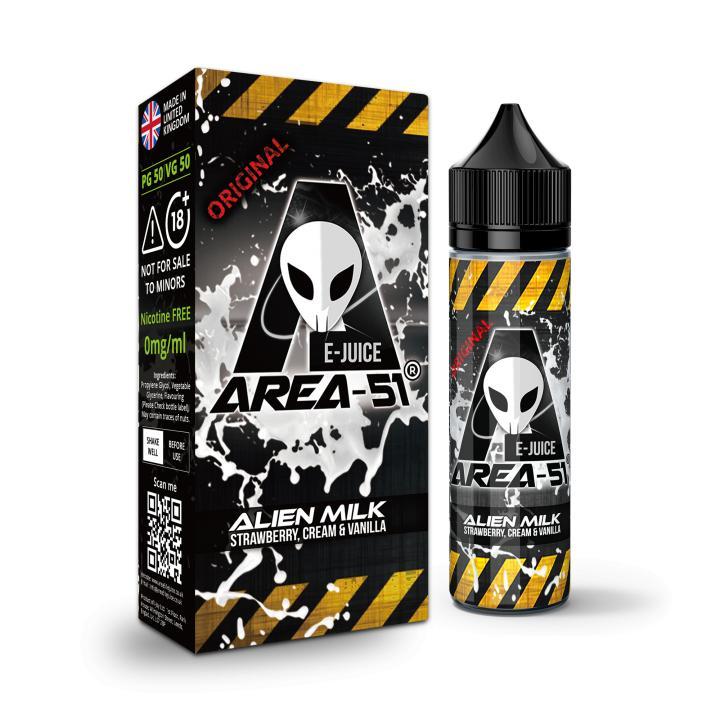 Alien Milk e-Liquid