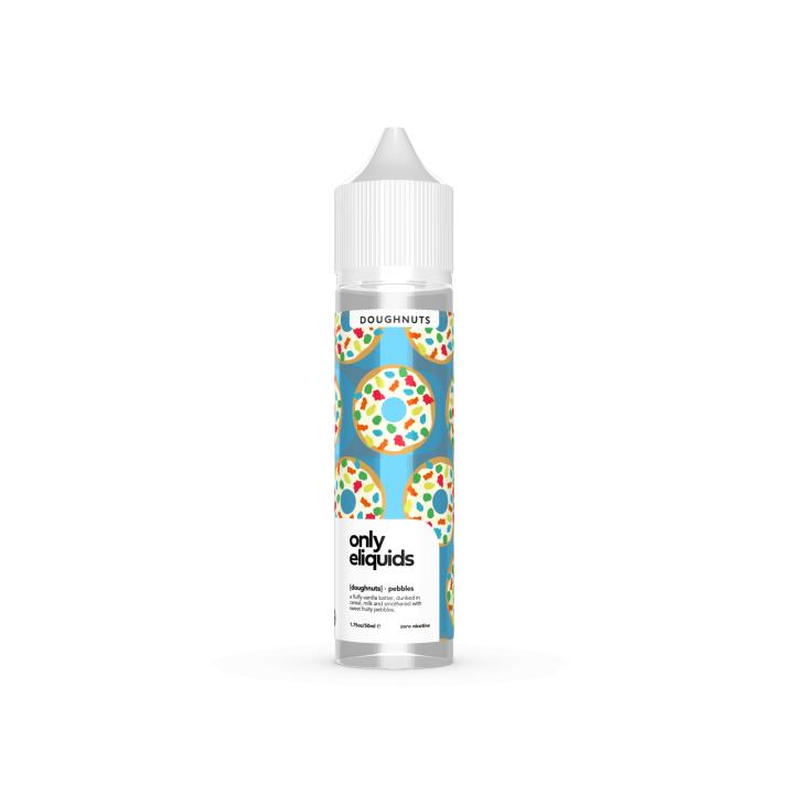 Pebbles Doughnut Shortfill by Only E Liquids