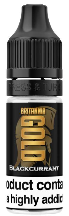 Blackcurrant Regular 10ml by Britannia Gold