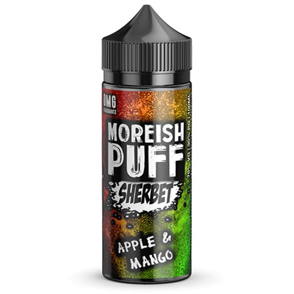 Apple & Mango Sherbet Shortfill by Moreish Puff