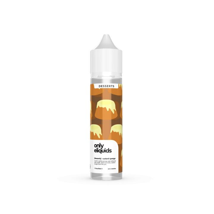 Custard Sponge Shortfill by Only E Liquids