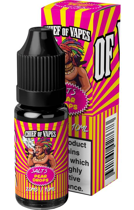 Pear Drops Nicotine Salt by Chief Of Vapes
