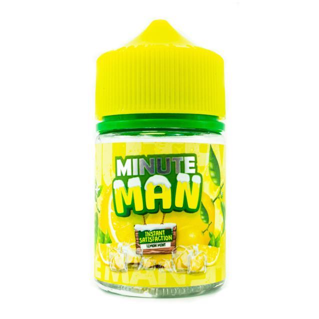 Lemon Mint Ice Shortfill by Minute Man