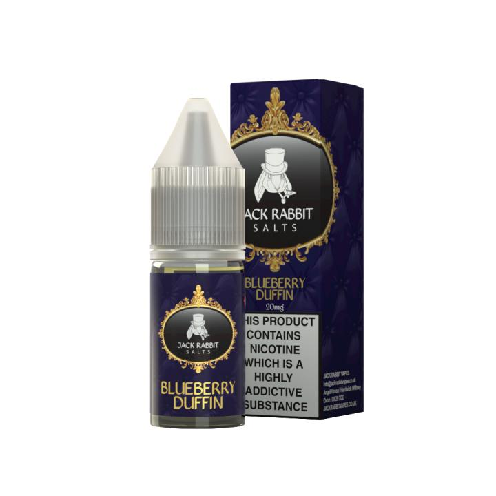 Blueberry Duffin Nicotine Salt by Jack Rabbit Vapes