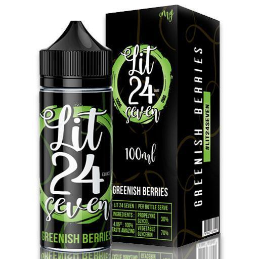 Greenish Berries Shortfill by Lit 24 Seven