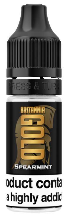 Spearmint Regular 10ml by Britannia Gold