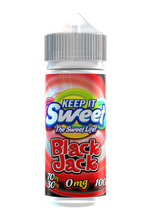 Sweet Black Jack Shortfill by Keep It Sweet