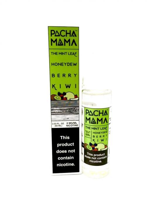 Mint Leaf, Honeydew, Berry & Kiwi Shortfill by Pacha Mama
