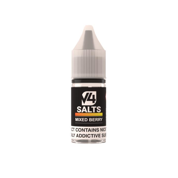 Mixed Berry Nicotine Salt by V4POUR