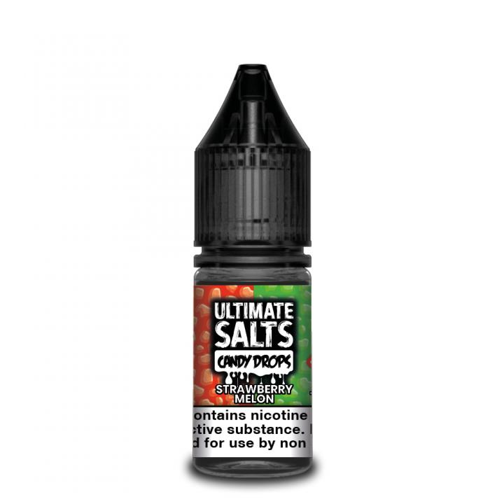 Candy Drops Strawberry Melon Nicotine Salt by Ultimate Puff