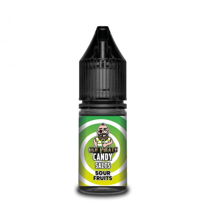 Candy SALTS Sour Fruits Nicotine Salt by Old Pirate