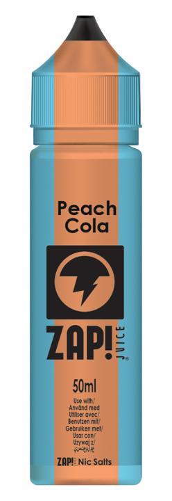 Peach Cola Shortfill by Zap!
