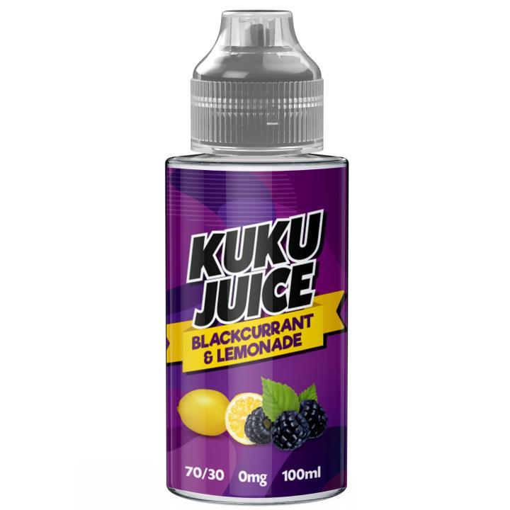 Blackcurrant Lemonade Shortfill by Kuku Juice