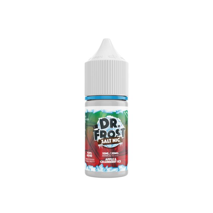 Apple & Cranberry Ice Nicotine Salt by Dr Frost